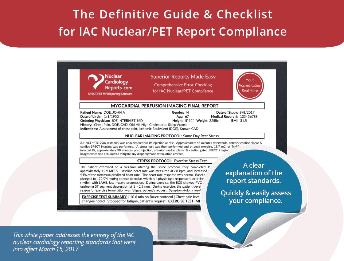 2017 ICANL Reporting Standard Guide & Checklist